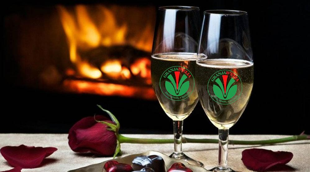 Ven a celebrar el 14 de febrero al complejo turístico Granja D´Elia