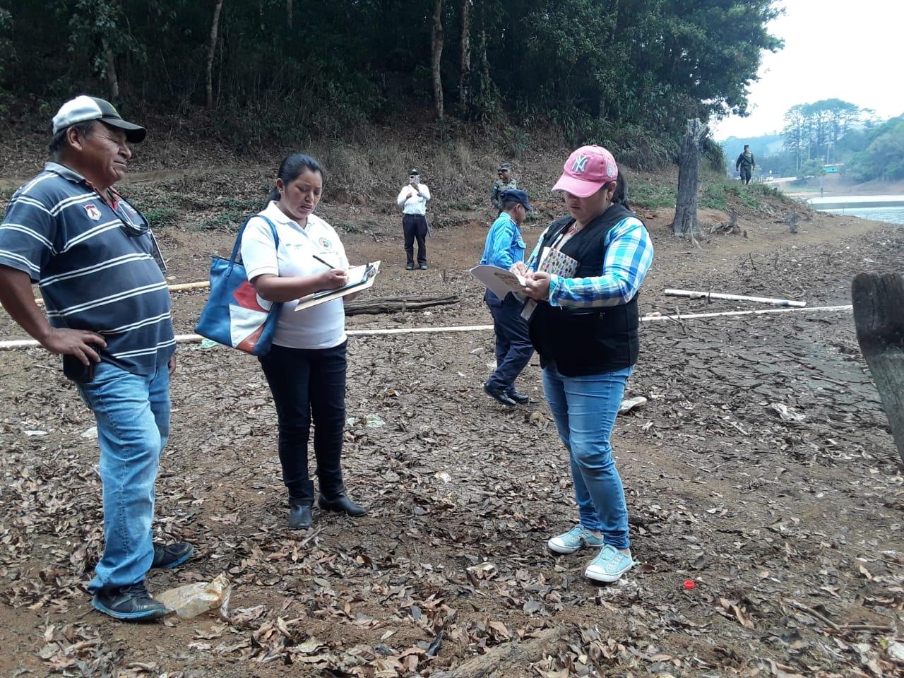 Investigan reducción del caudal de laguna «Madre vieja» de Intibucá