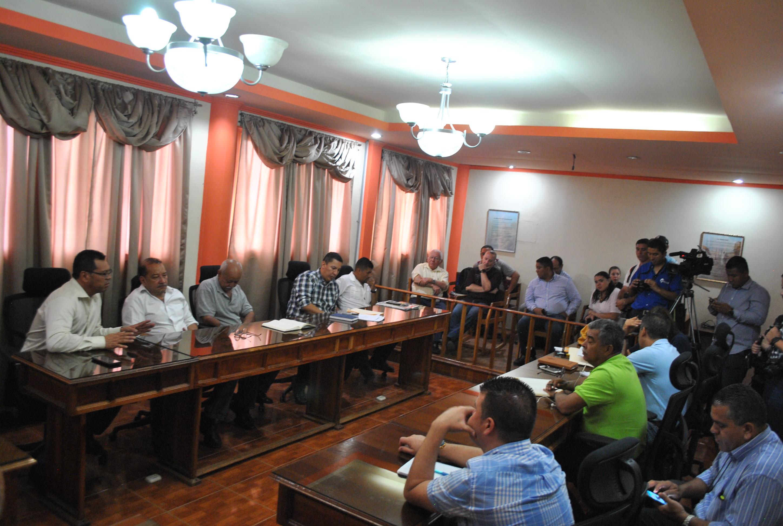 Acuerdos entre la Corporación Municipal de Siguatepeque y BLOARSA  referente a la recolección de basura
