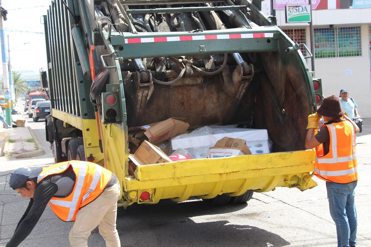 Siguatepeque cuenta con nueva empresa de recolección de basura y desechos sólidos