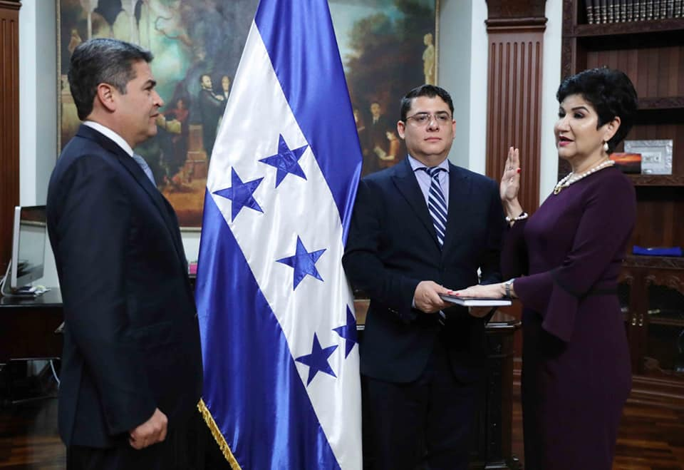 Designada presidencial María Antonia Rivera, nueva encargada de Desarrollo Económico