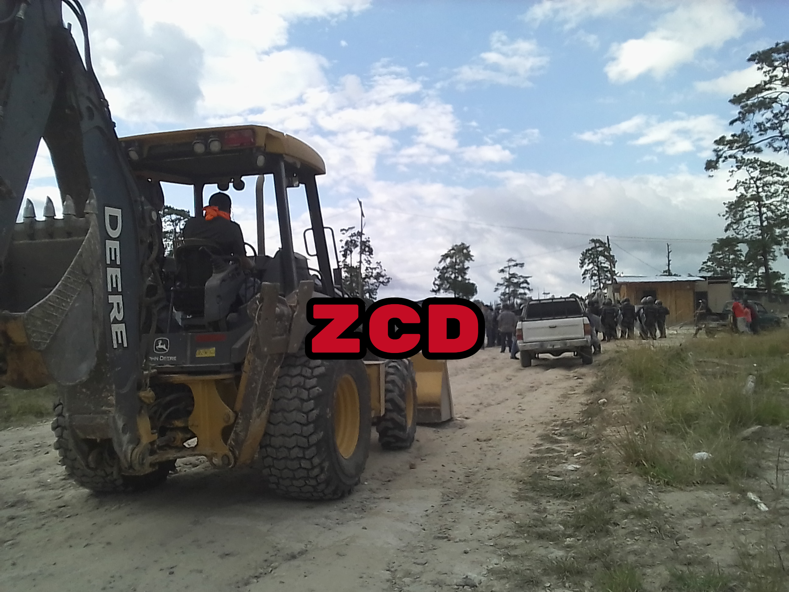 Desalojan 47 familias de la colonia Jericó en Siguatepeque