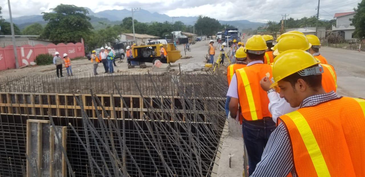 CoST Honduras conoce avances de ampliación de carretera de Comayagua