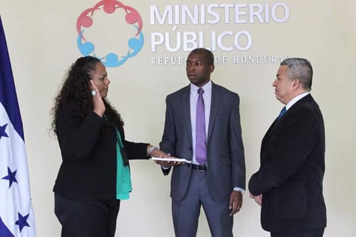 Nombran nueva coordinadora regional del Ministerio Público en la Zona Central