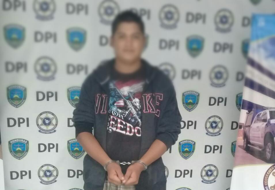 Capturan presunto distribuidor de drogas en la Primero de Mayo Comayagua