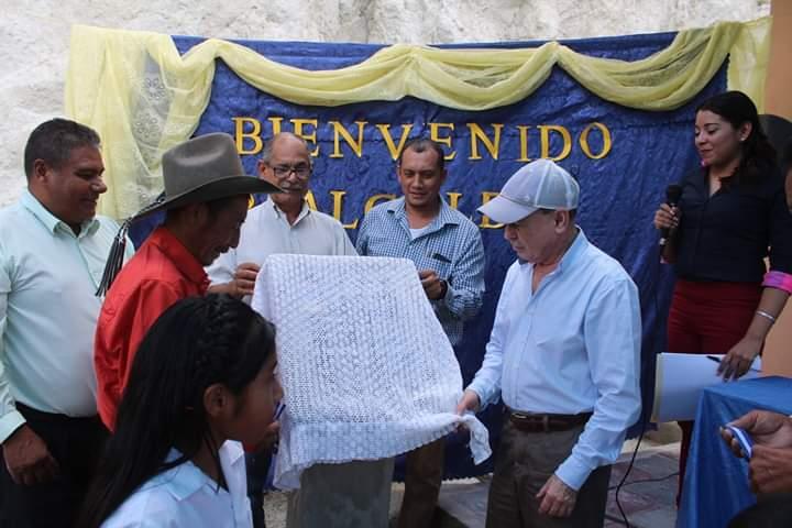Alcalde de Comayagua inauguró aula escolar en la comunidad de San José del Injerto