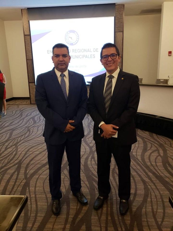 Alcalde de Siguatepeque participa en taller «Creación de la Red de policías municipales» en Panamá