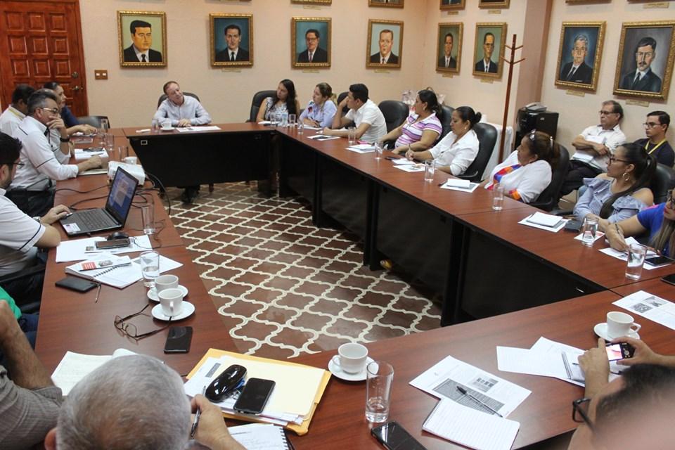 Alcaldía de Comayagua comparte experiencias de trabajo con municipalidades de Valle y Choluteca