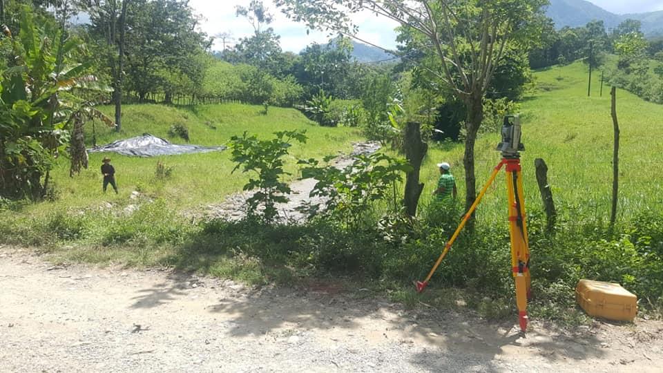 INSEP realiza estudios Topográficos para un nuevo Hospital Rural en el departamento de Yoro