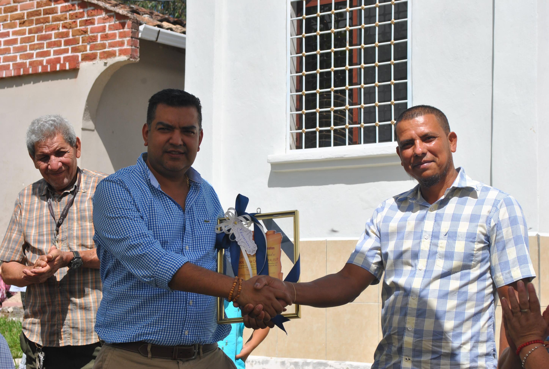 Alcalde de Siguatepeque inauguró proyecto de agua en la comunidad de Chorreritas