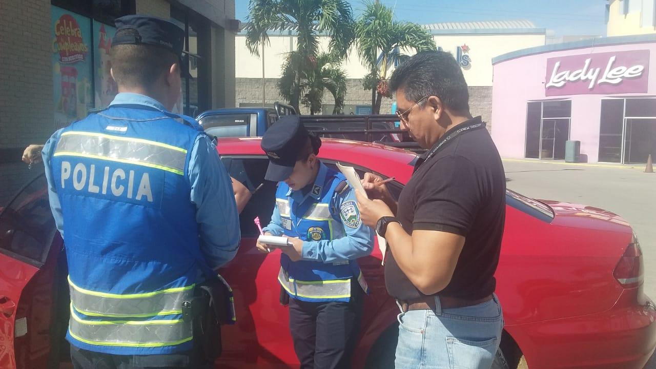 Ministerio Público y Vialidad y Transporte verifican respeto a parqueos para personas discapacitadas en Comayagua
