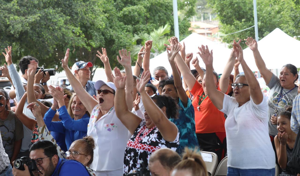 Inauguran parque «Paz y Felicidad» en la  Ciudad España