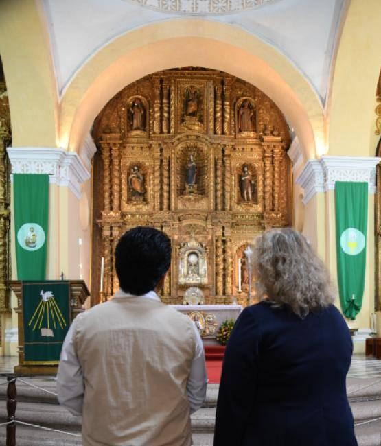 Restaurarán altar de capilla del Sagrado Sacramento de la Catedral de Comayagua