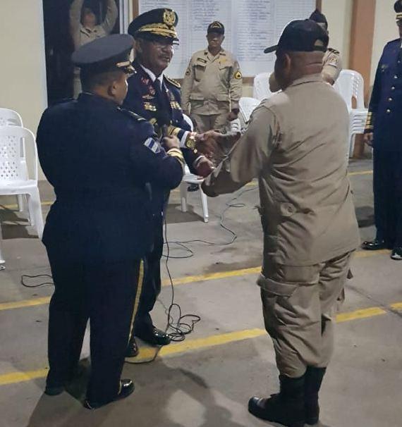 Nombran nuevo comandante de bomberos en Siguatepeque