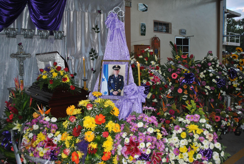 Honran memoria de Comandante de Bomberos de Siguatepeque