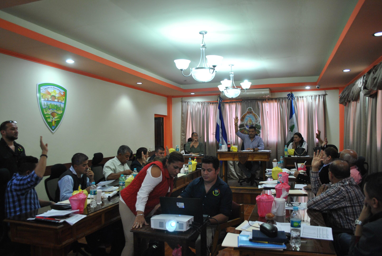 Pendiente aprobación del presupuesto de egresos de la Municipalidad de Siguatepeque