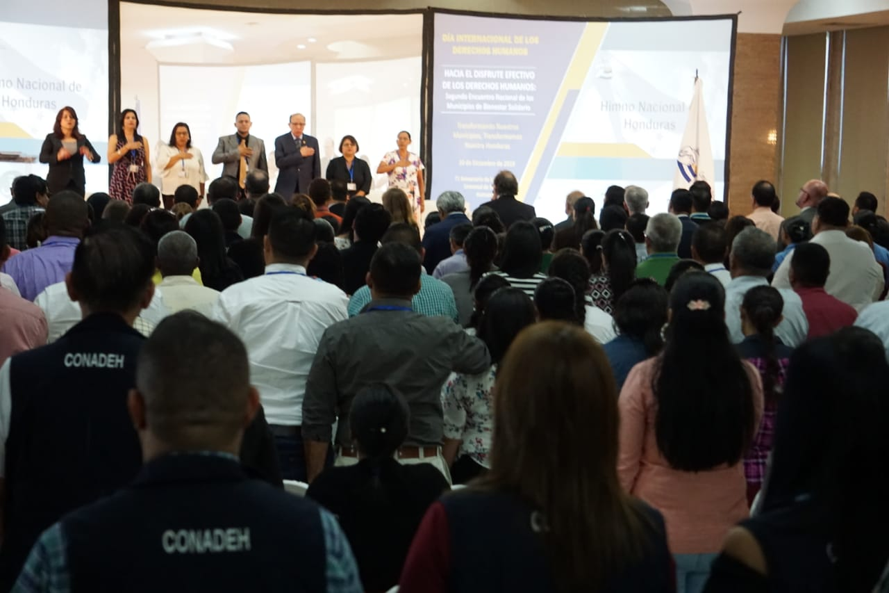 CONADEH celebra el día Internacional de los Derechos Humanos