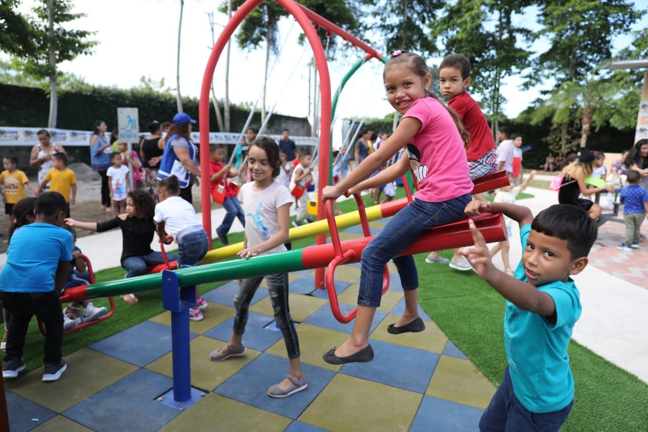 Centro de rehabilitación de La Ceiba recibe el Parque para una Vida Mejor