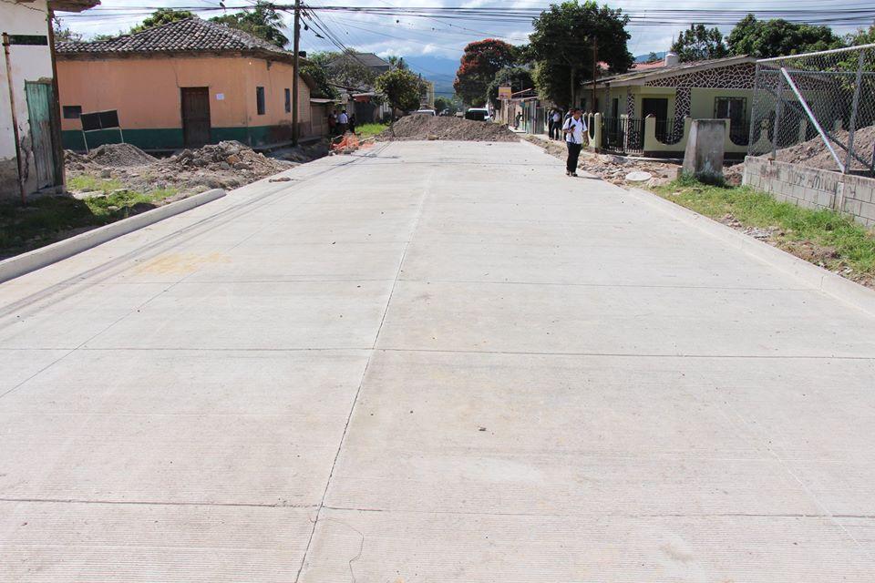 Esta es la inversión que ejecutará la Municipalidad de Siguatepeque en proyectos  pavimentación