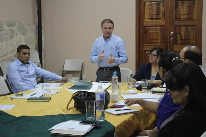 Consejo de la SETCAM sostiene reunión de trabajo en Comayagua