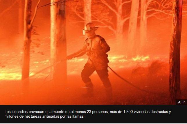 Incendios en Australia: por qué son tan feroces y otras claves para entender lo que está ocurriendo en el país