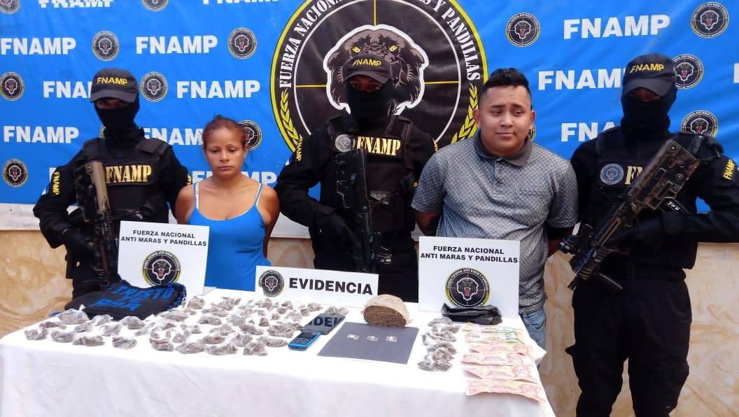 En dos operaciones simultáneas la FNAMP detienen a dos personas dedicadas a la venta y distribución de droga