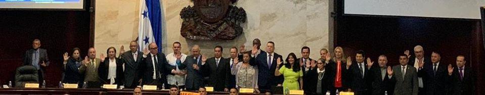Diputados eligen nueva Junta Directiva del Congreso Nacional de Honduras