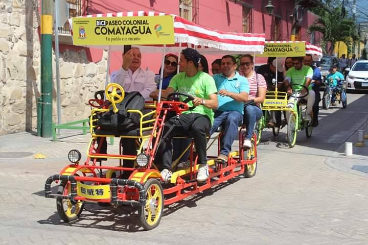 Realizan taller de movilidad urbana y sostenible en Comayagua