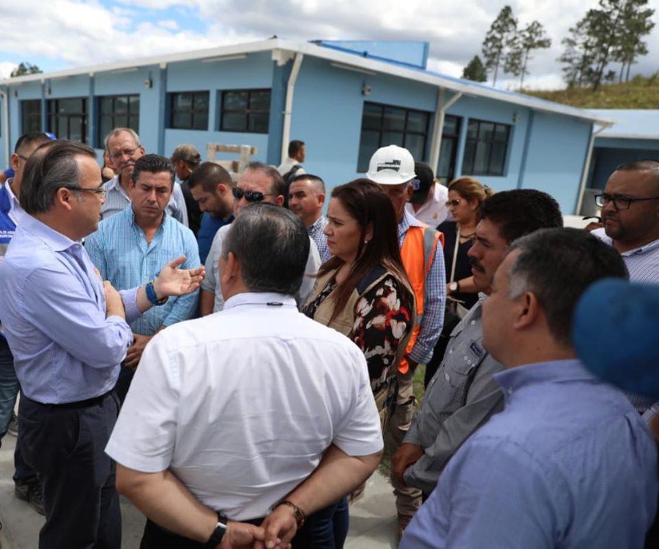 En un 90% avanzan construcción del policlínico de Siguatepeque