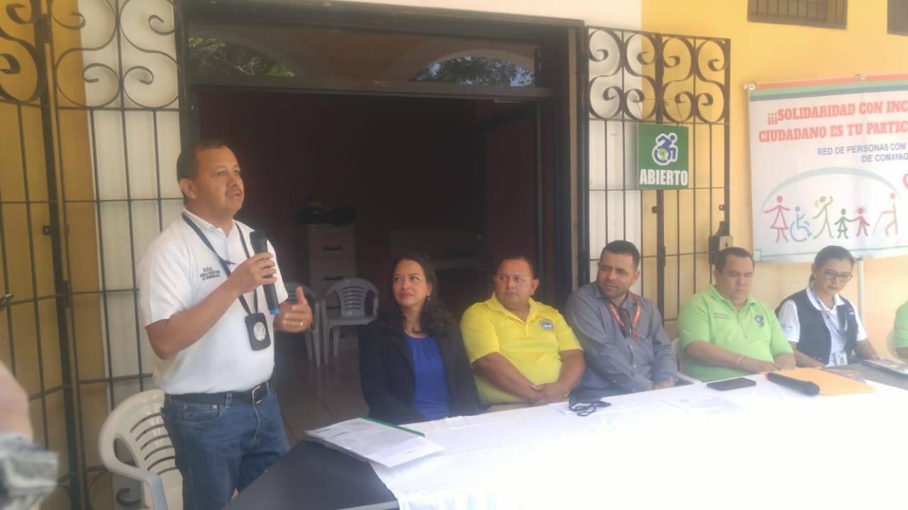 Fiscalía de Comayagua trabaja en defensa de las personas con discapacidad Comayagua.