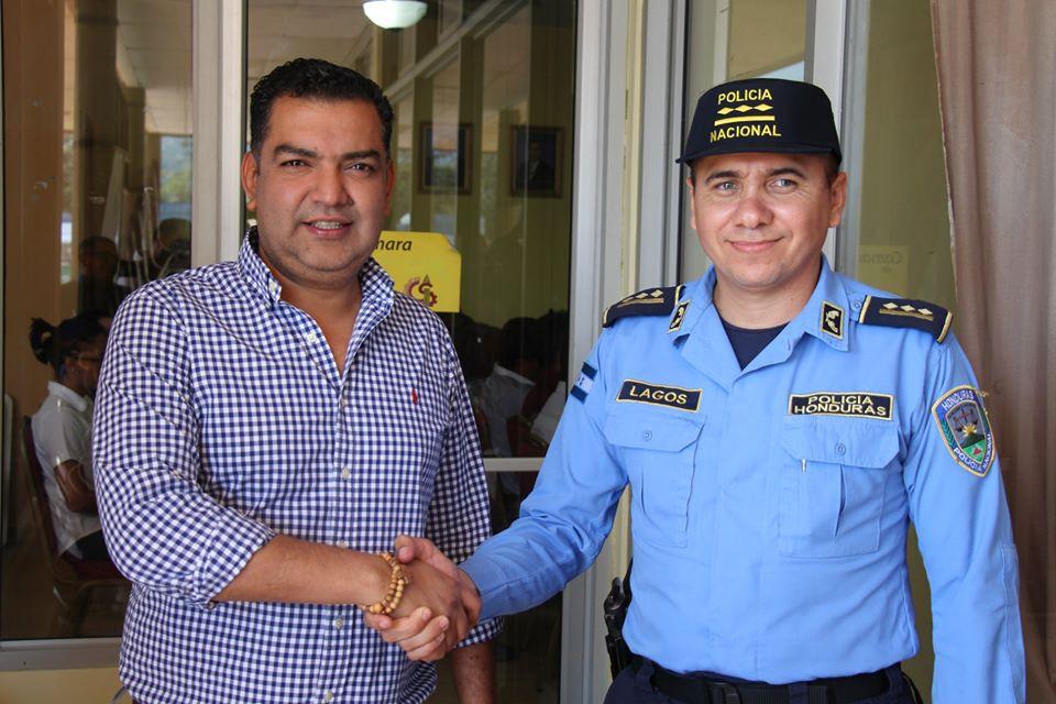Nombran nuevo jefe policial en Siguatepeque