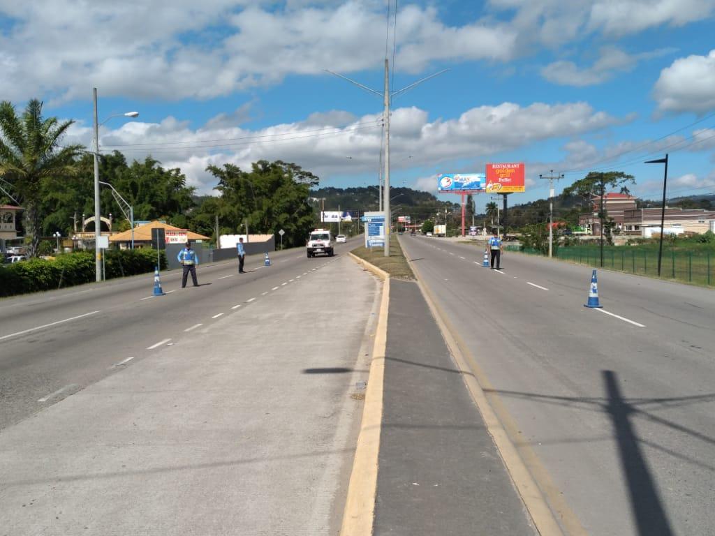 Implementan operativos en carreteras de Honduras