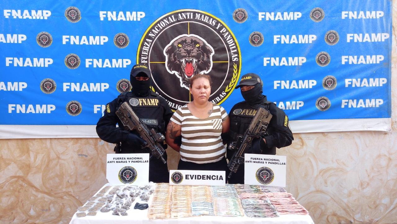 FNAMP continúa debilitando las estructuras de venta de droga de la Estructura Criminal Mara Salvatrucha MS-13 en la región Central del País
