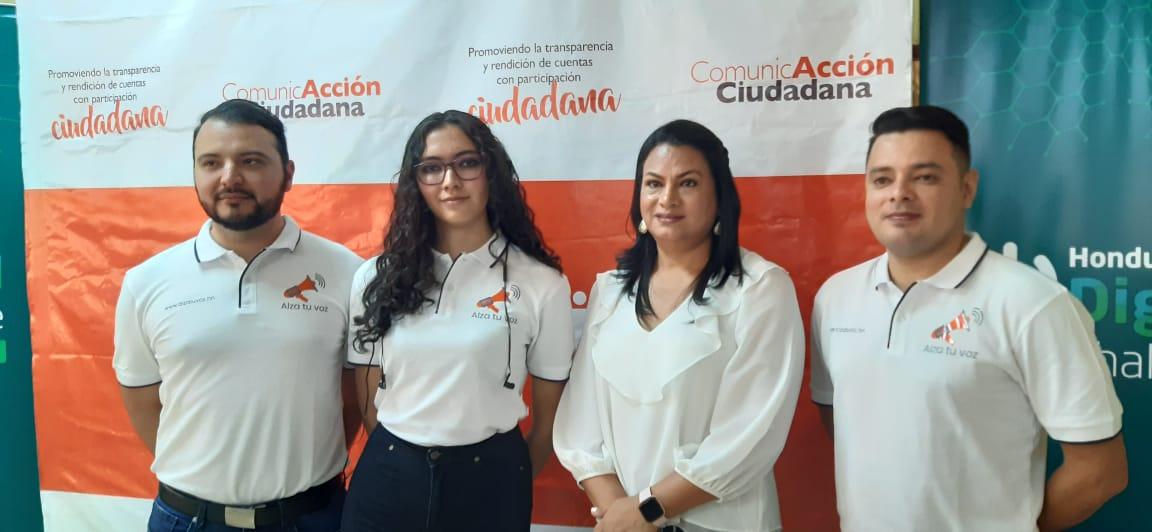 !Alza tu voz! impulsa la transparencia en Siguatepeque