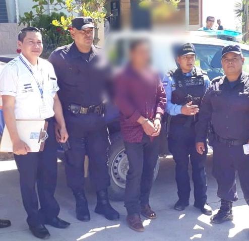 Ciudadano salvadoreño es capturado en territorio hondureño acusado en su país por el delito de tenencia ilegal de armas de fuego y otros delitos