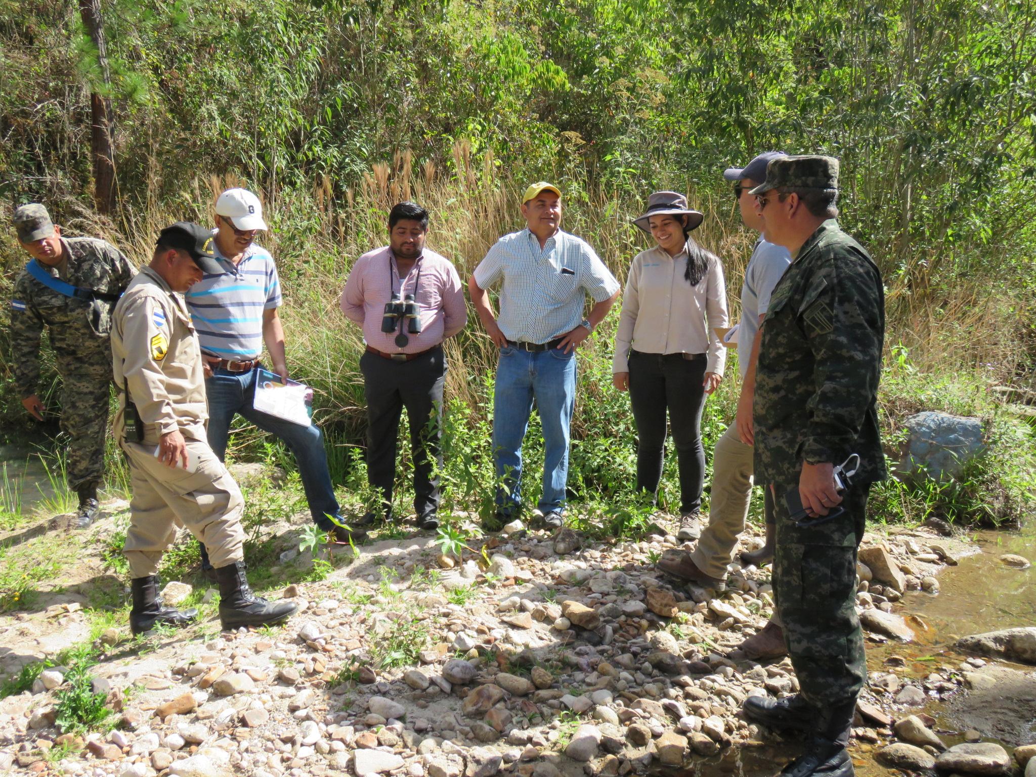 Evalúan la situación actual de las microcuencas río Guaratoro y quebrada Chamalucuara