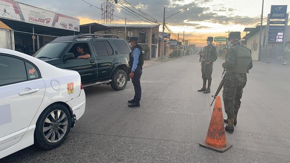 Primer Batallón de Ingenieros y Policía Nacional de Honduras ejecuta operativos en Siguatepeque