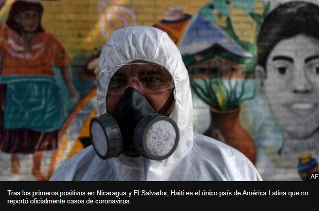 Coronavirus: Nicaragua  confirma su primer caso de covid-19