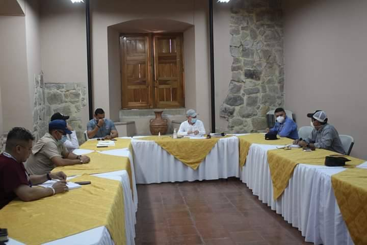 Alcalde Carlos Miranda y SINAGER establece nuevas medidas para restringir más las salidas y entradas a Comayagua