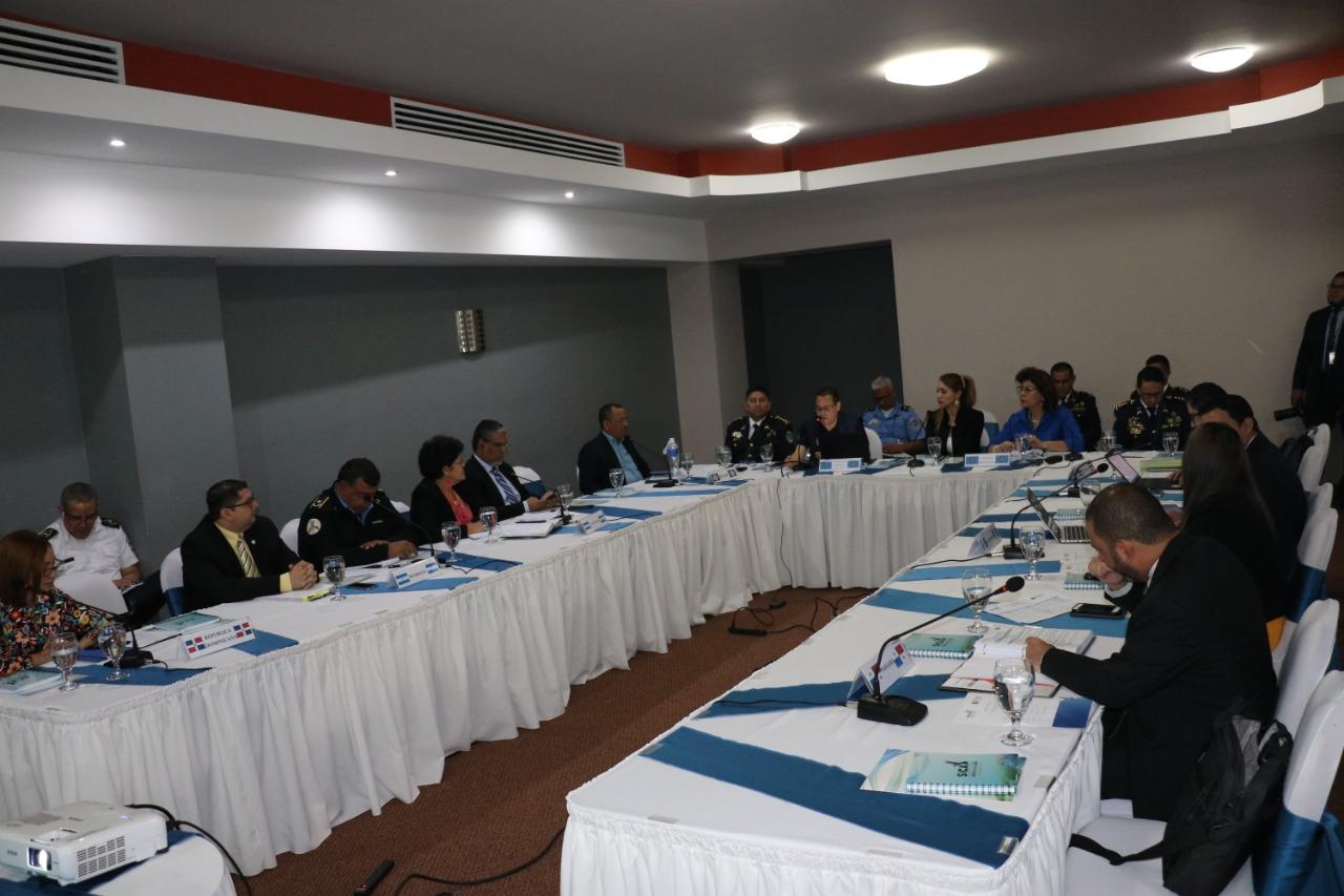 Honduras sede de la LXXIII Reunión Ordinaria de la Comisión de Seguridad de Centroamérica