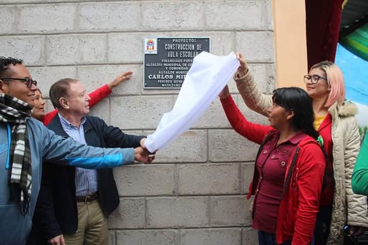 Inauguran varios proyectos en la comunidad de El Matazano #2 en Comayagua