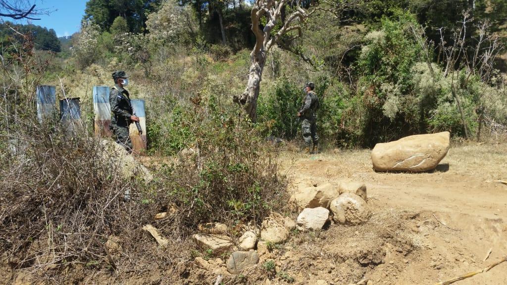 Fuerzas Armadas ejecuta operativos en puntos ciegos del país para evitar el tránsito ilegal de personas