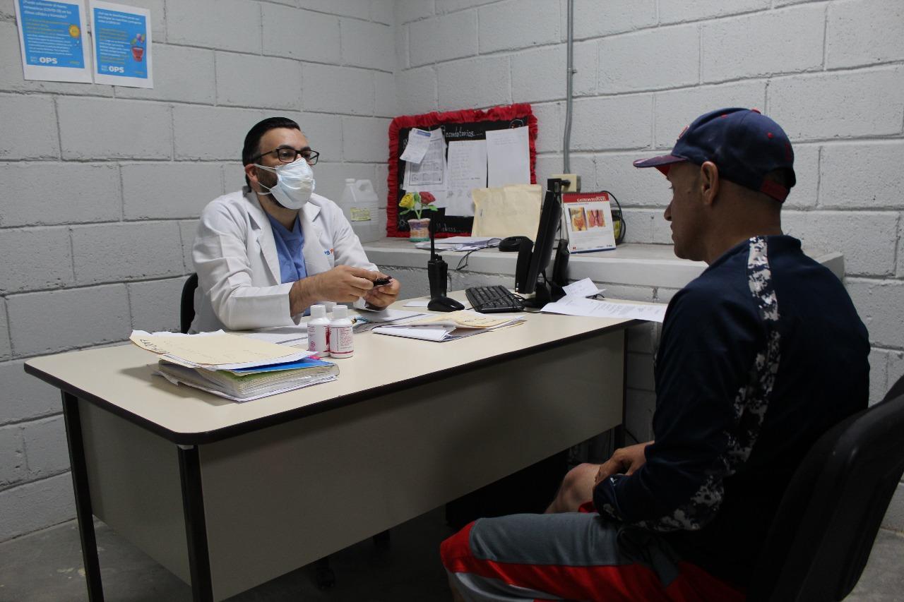 Centro Penitenciario de El Porvenir, Francisco Morazán Autoridades supervisan alimentación y medicamentos para privados de libertad