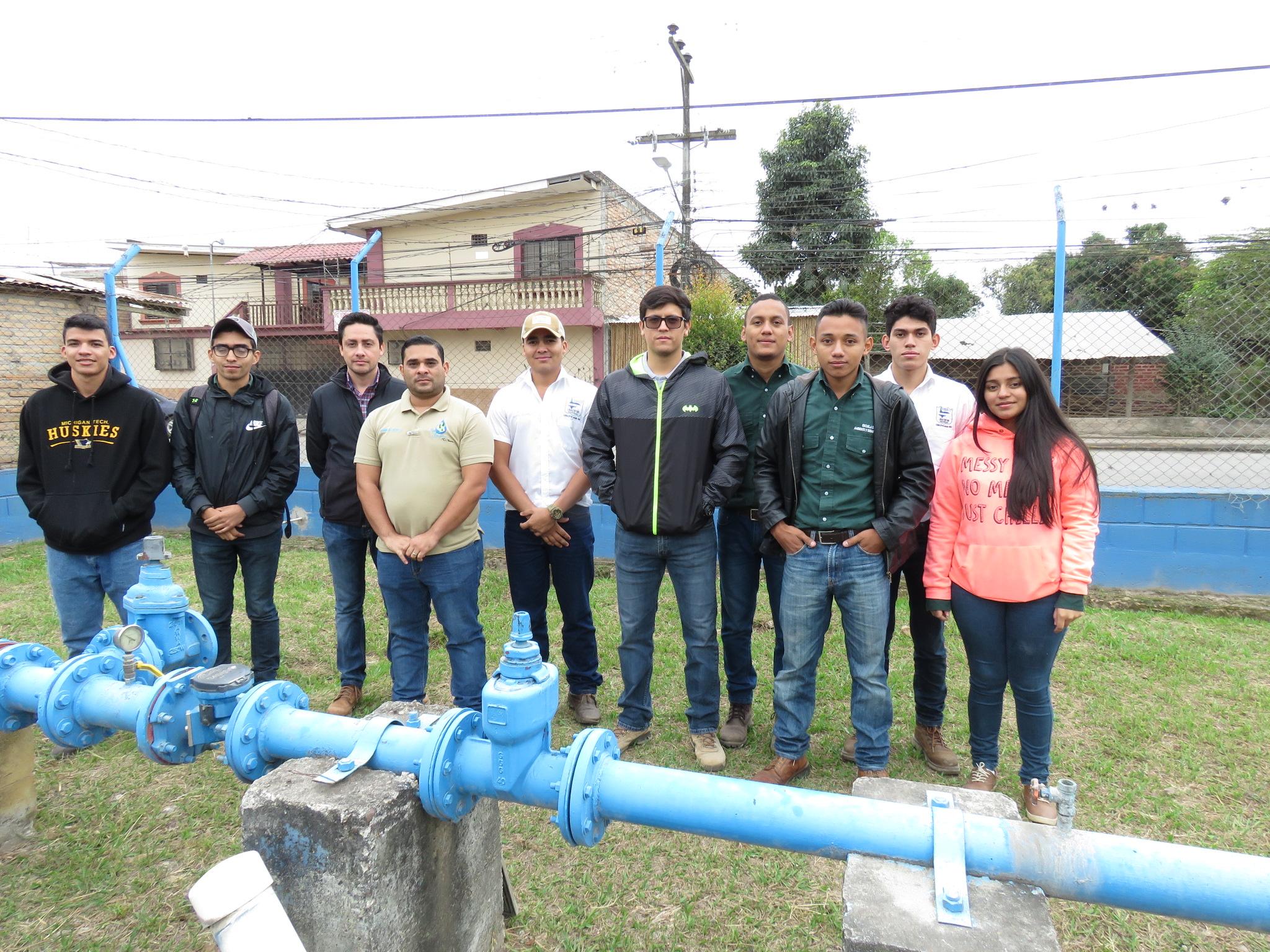 Estudiantes de la UNACIFOR conocen proceso de potabilización del agua