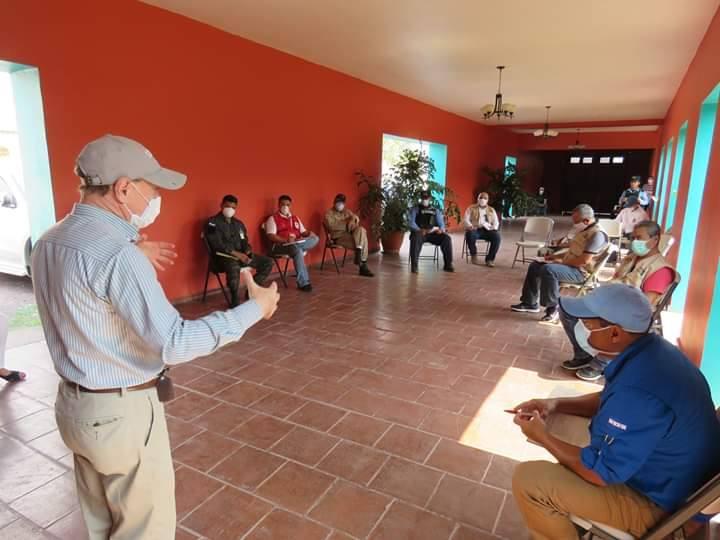 Definen centro de operaciones para continuar con los trabajos de prevención del COVID-19 en Comayagua