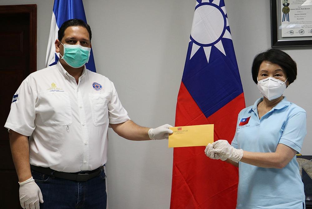 Taiwán entrega importante donativo para el combate del COVID-19 en Honduras
