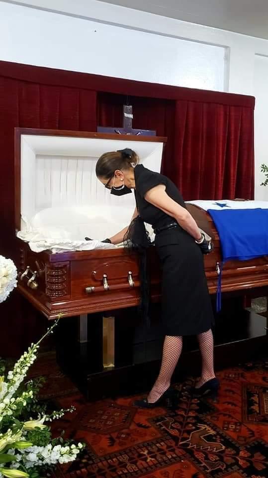 Restos de Expresidente de Honduras, Rafael Leonardo Callejas permanecen en la capilla de la Fuerza Aérea Hondureña