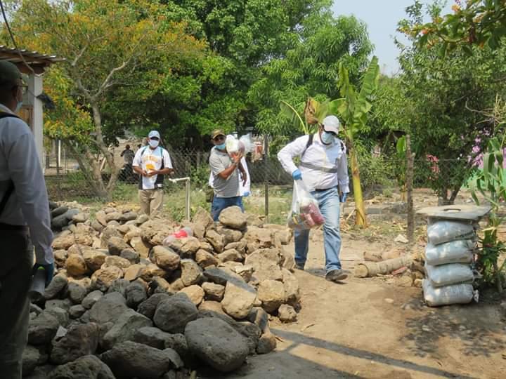 Alcaldía de Comayagua avanza en orden con la entrega de ayudasalimentarias en barrios, colonias y aldeas