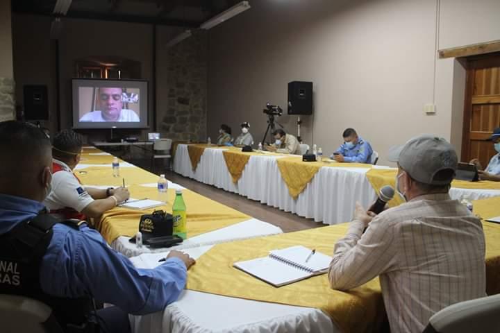 Alcaldía de Comayagua y autoridades del Codem gestionan ayudas alimentarias al Programa Mundial de Alimentos