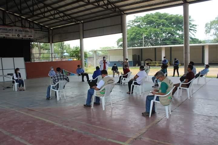 Alcaldía de Comayagua, CODEM y SINAGER facilitan apoyo a la comunidad de El Sauce
